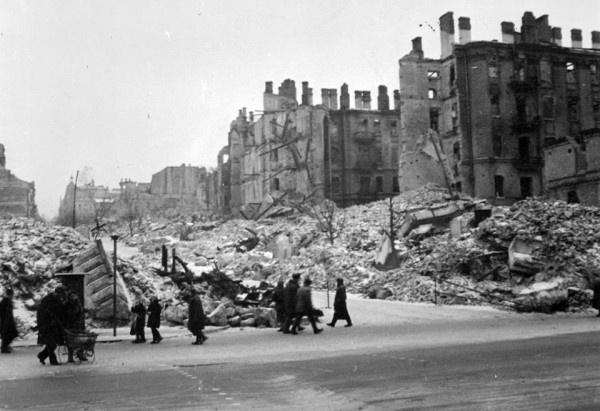 Зруйнований Київ у вересні 1941