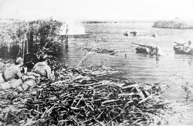 Переправа радянських військ через Дніпро , 1943 рік