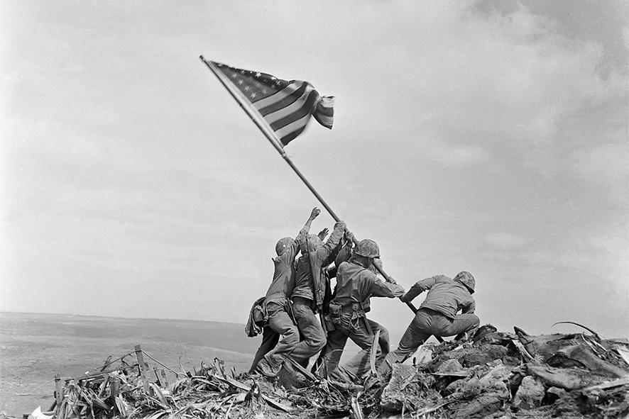 Прапор Сполучених Штатів над Іводзимою